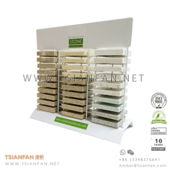 Granite and Marble Tile Sample Desk Rack