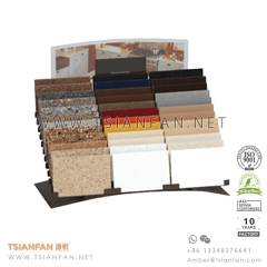 Granite and Quartz Stone Tile Sample Desk Rack