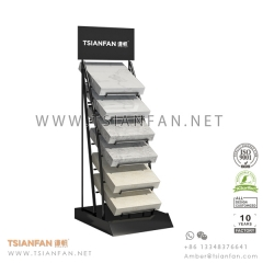 Marble Stone Sample and Granite Table Display Rack for Marketing
