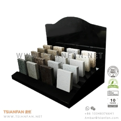 Granite and Marble Stone Sample Tabletop Display