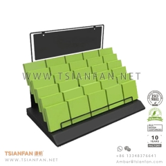 Metal Granite Stone Sample Counter Display Rack