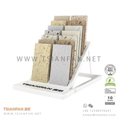 Metal Granite and Quartz Stone Table Stand Rack