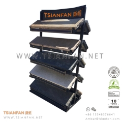 Outdoor Paving Stone Display Rack for Natural Stone