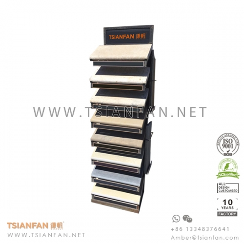 Outdoor Natural Stone Display Tower