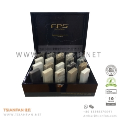 MDF Natural Quartz Tile Sample Display Box