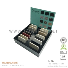 MDF Quartz Stone Tile Sample Display Box