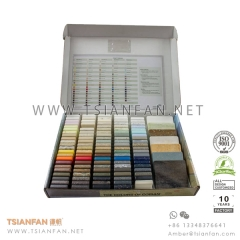 Solid Surface and Arylic Stone Sample Chip Display Box