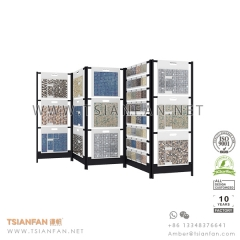 Exhibition Mosaic Tile Folder Display Rack