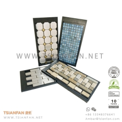 Plastic Glass Mosaic Tile Display Board