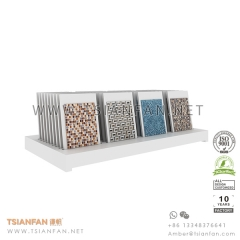 Tile Table Rack , Mosaic Counter Top Display Stand