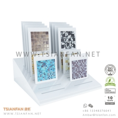 Glass Mosaic Tile Board Display Stand