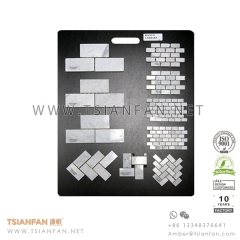 Hand Hold Stone Mosaic Tile Display Board