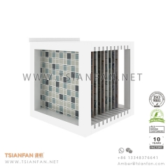 Mosaic Tile board Display shelf for Technical wall