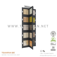Showroom Ceramic Mosaic Tile Display Tower