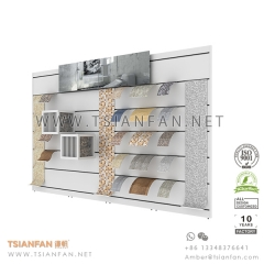 Custom Mosaic Tile Showroom Display , Tile Slot Wall