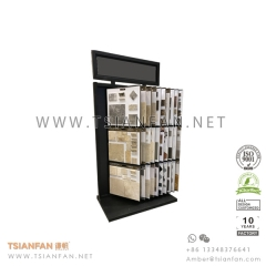 Showroom Wing Stone Tile Board Display Rack