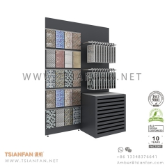Showroom Mosaic Tile Sample Display Shelf