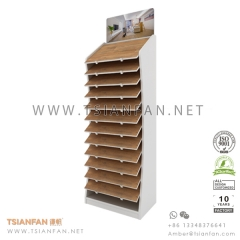 Wooden Flooring Tile Exhibition Display