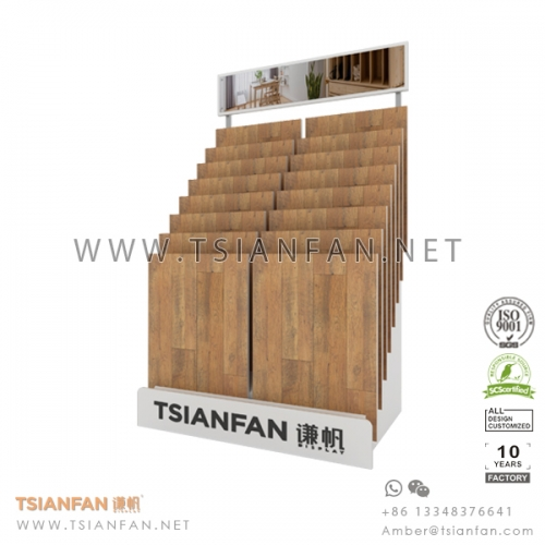 Waterfall Flooing Tile Sample Board Display Rack