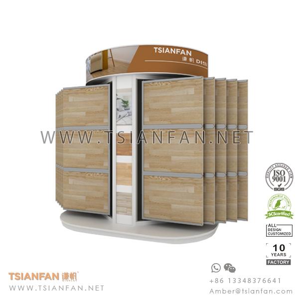 Wing Wood Floor Tile Showroom Display System