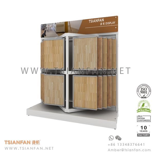 Wing Wood Flooring Tile Showroom Display System