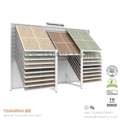 Showroom Horizontal Sliding Ceramic Tile Display Showroom Design