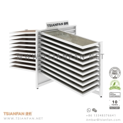 Showroom Horizontal Sliding Tile Display Rack