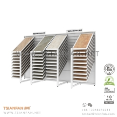 Showroom Horizontal Sliding Ceramic Tile Display Rack