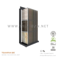 Ceramic Tile Wing Rack for Showroom