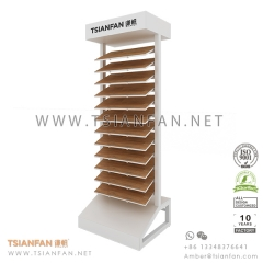 Wood Floor Tile Display Rack