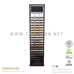 Granite and Quartz Stone Tower Display Rack for Stone Sample Chip