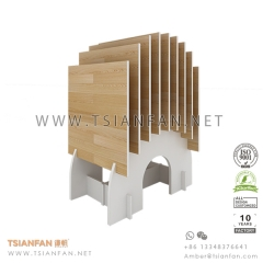 Wood Flooring Tile Exhibition Display Rack