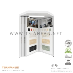 Ceramic Tile Display System for Showroom Sample, Wing Tile Display Stand