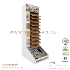 Wooden Flooring Tile Display Shelf