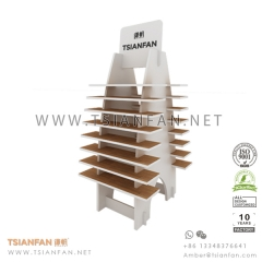 Wood Flooring Tile Display Tower