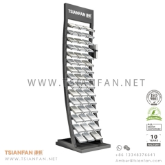 Granite Rack Marble Stone Display Tower