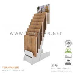 Wooden Flooing Tile Showroom Display Stand