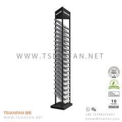 Artificial and Quartz Stone Showroom Display Rack