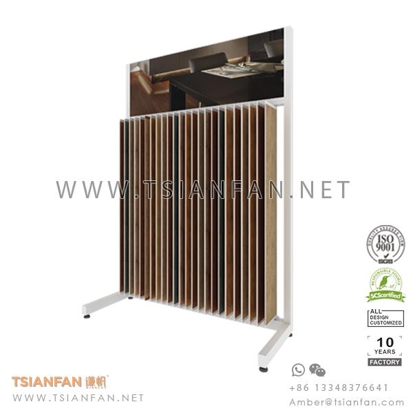 Wood Flooring Tile Wing Display