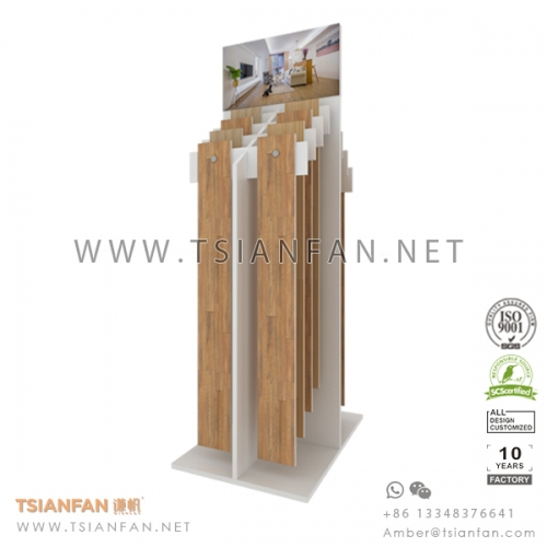 Wooden Floor Tile  Sample Display