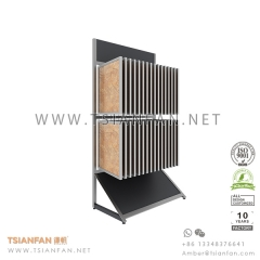 Wing Porcelain Tile Sample Showroom Display Stand