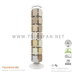 Quartz Surface Sample Display Tower,Stone Display Stand For Quartz