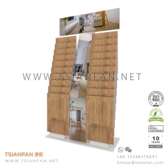 Wood Flooring Tile Sample Display