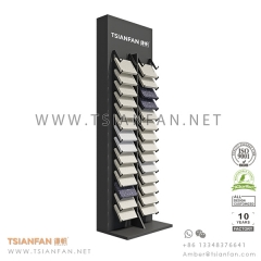 Showroom Quartz Stone Tile Sample Display Tower