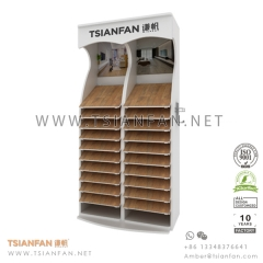 Wooden Floor Tile Display Shelf