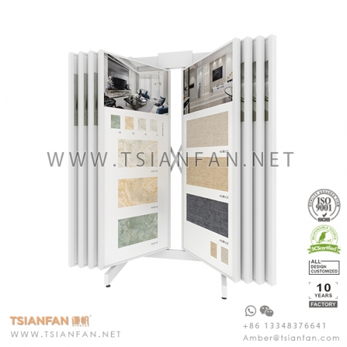 Wing Tile Sample Showroom Display Stand