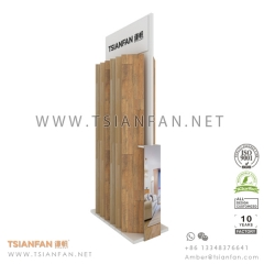Wood Flooring Tile Display Exhibition Rack