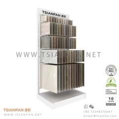 Wing Porcelain Tile Sample Holder , Showroom Ceramic Tile Display Rack