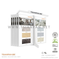 Wing Tile Display System for Showroom