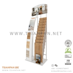 Wooden Flooring Tile Showroom Display Rack